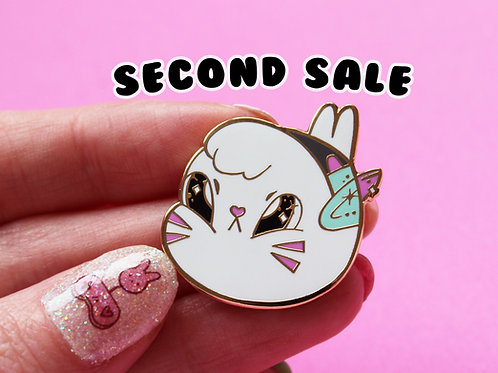 SECOND SALE Overwatch D.VA Bunny 3cm Hard Enamel Pin