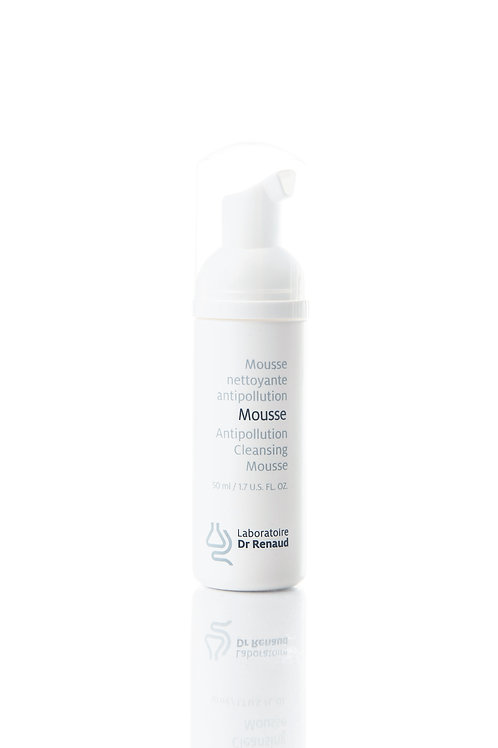 Mousse nettoyante antipollution 50 ml