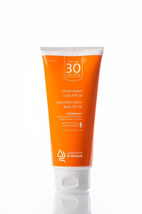 Lotion solaire Anti-âge Corps FPS 30 200 ml