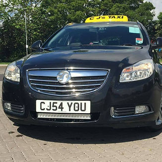 Vauxhall insgnia taxi skegness hackney carriage