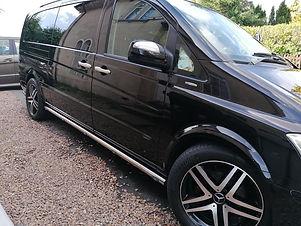 VIP Mercedes Viano Executive taxi skegness taxi