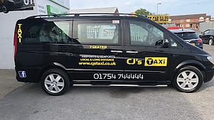 CJ's Taxi Mercedes Viano