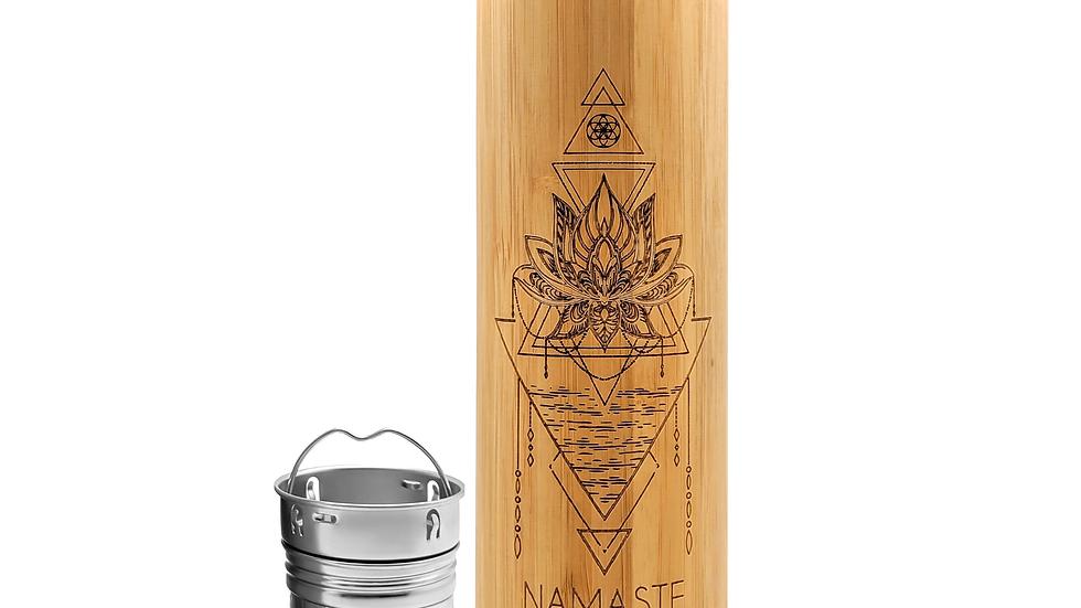 NAMASTE Bamboo Tumbler