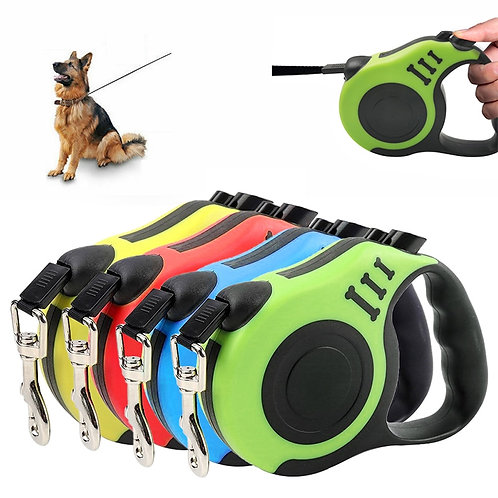 Heavy Duty Retractable Dog Leash for Small and Medium Pet