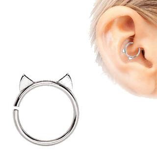 Stainless Steel Cat Cartilage Earring