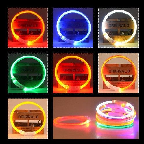 LED USB Charging Dog Collar
