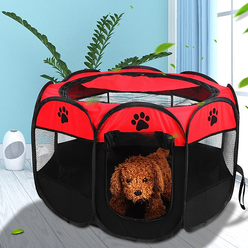 Cat and Dog Portable Foldable Octagonal Tent for  Indoor/Outdoor Use
