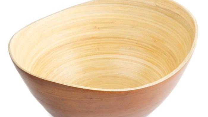Bamboo Gift Basket Bowl
