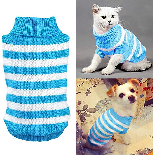 Striped Pet Sweater