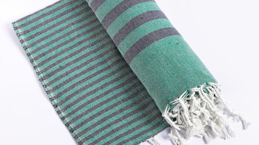 Fethiye Blanket Throw - Green