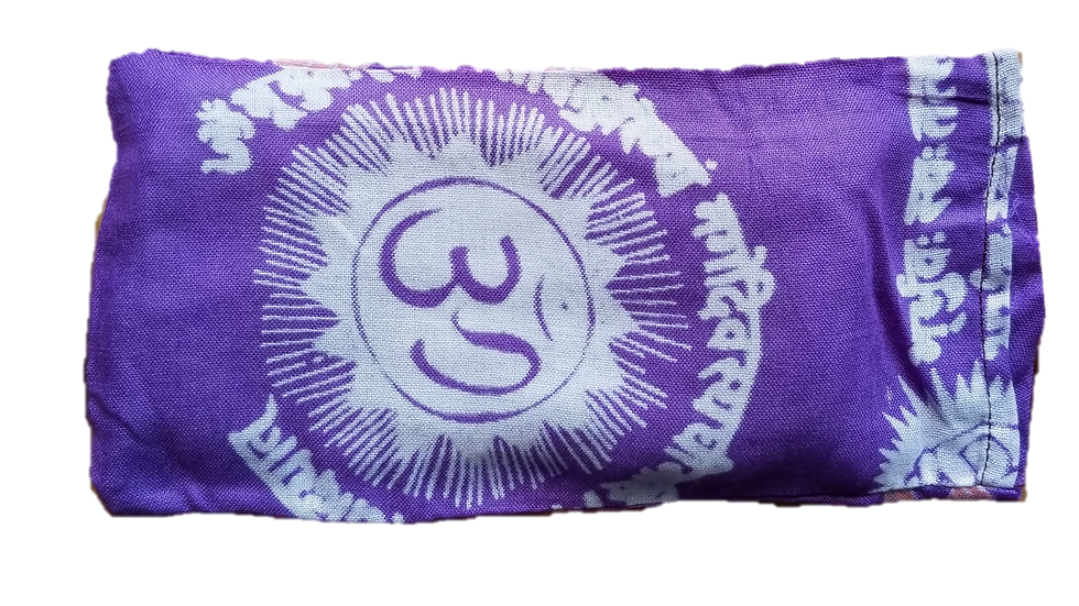OMSutra Eye Pillow - OM Mantra Design