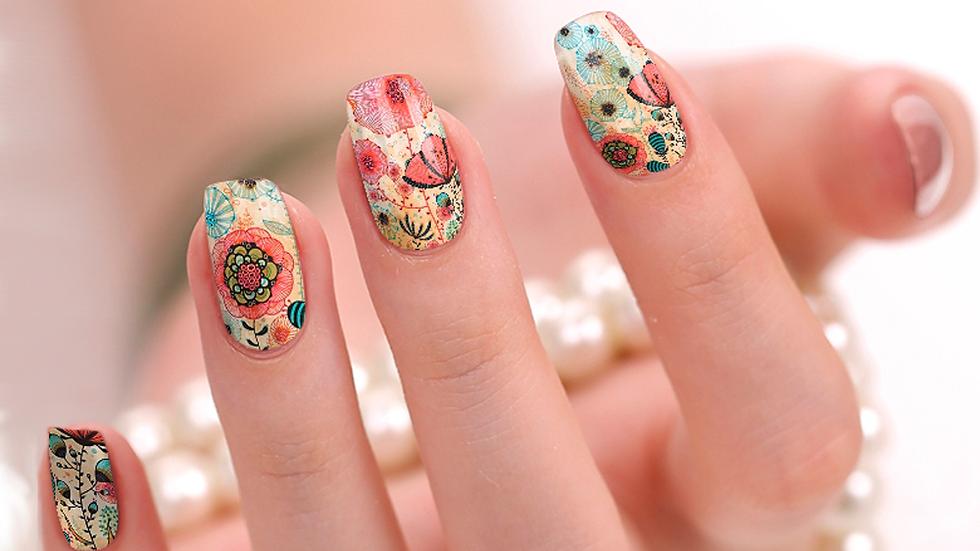 Floral Days Nail Wraps