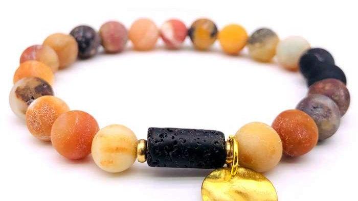 Sun Goddess Lava Stone Essential Oil Bracelet Amazon