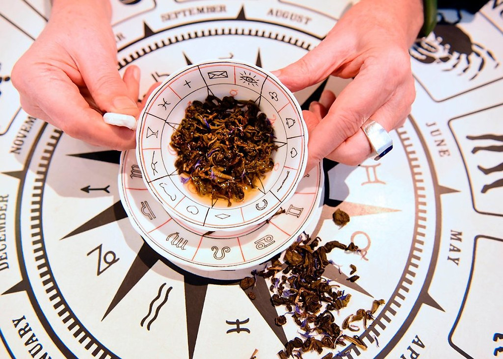 How to Read Tea Leaves. Tea leaves readings a form of divination used to explore the past, present, and future. Tasseography is the art of identifying symbols and interpreting messages found in the shapes of tea leaves.