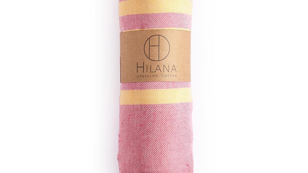 Fethiye Blanket Throw - Pink