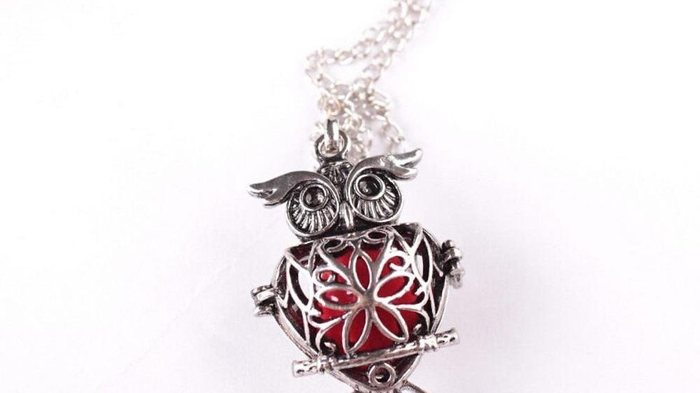 Vintage Owl Diffuser Necklace - Free Shipping