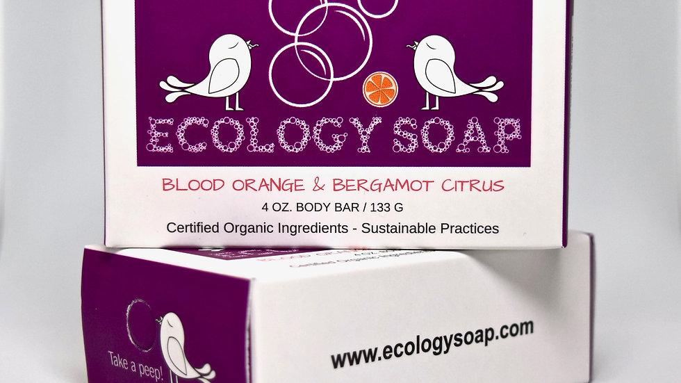 Blood Orange & Bergamot Citrus Body Bar