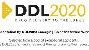 DDL Emerging Scientist Award