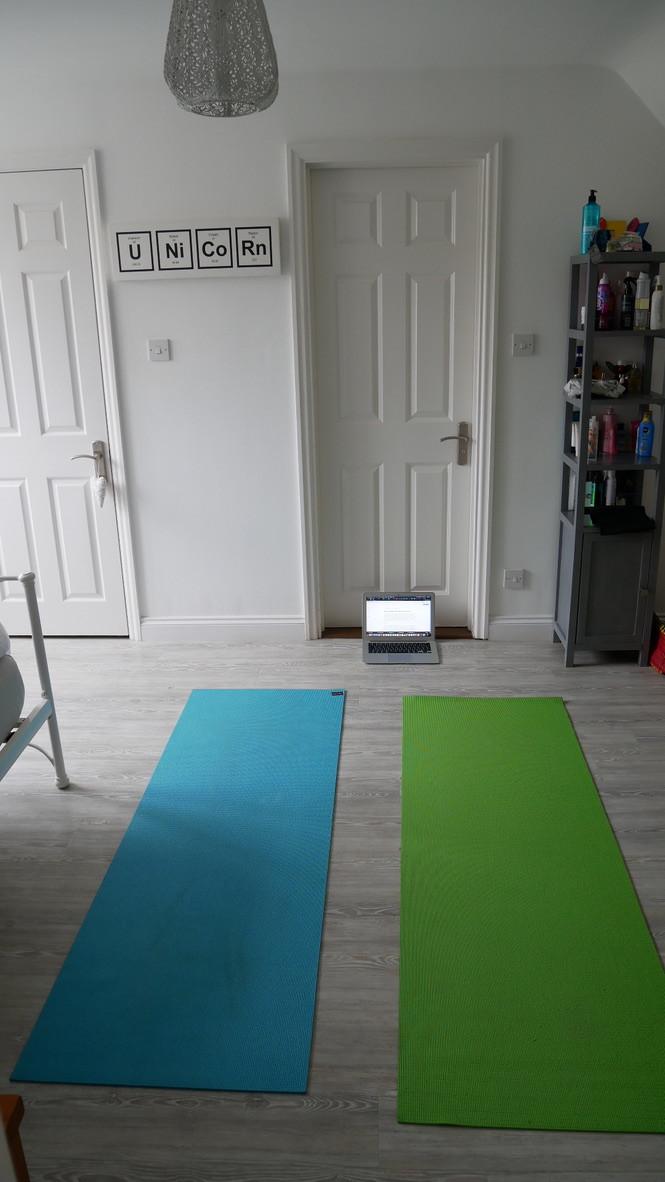 pilates matts