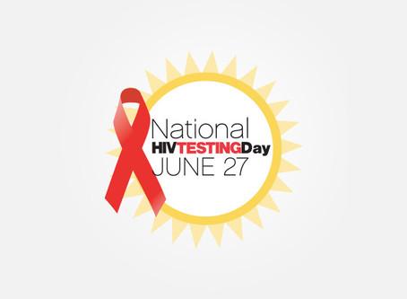 National HIV Testing Day #HIVTestingDay