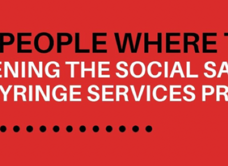 Serving People Where They Are: Strengthening the Social Safety Net Through Syringe Services Programs