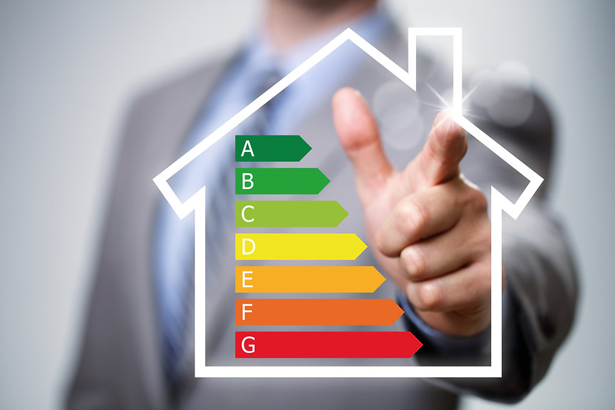 Home energy efficiency chart