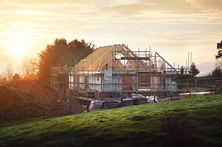 Building-site-with-house-under-construct