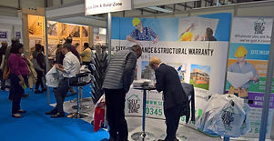 Build-Zone stand at exhibition