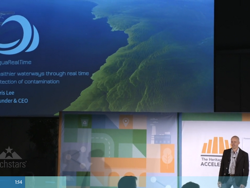 AlgaeTracker featured at Techstars demo day