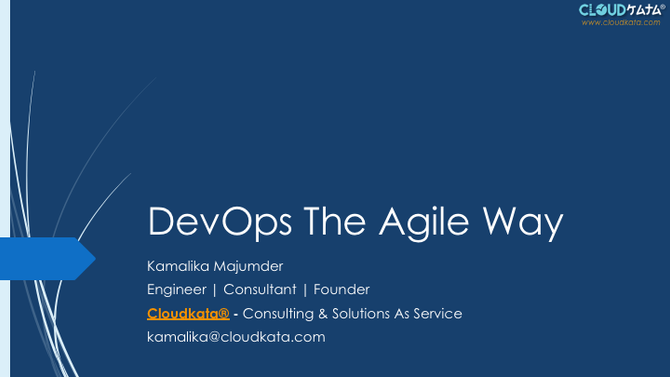 DevOps The Agile Way