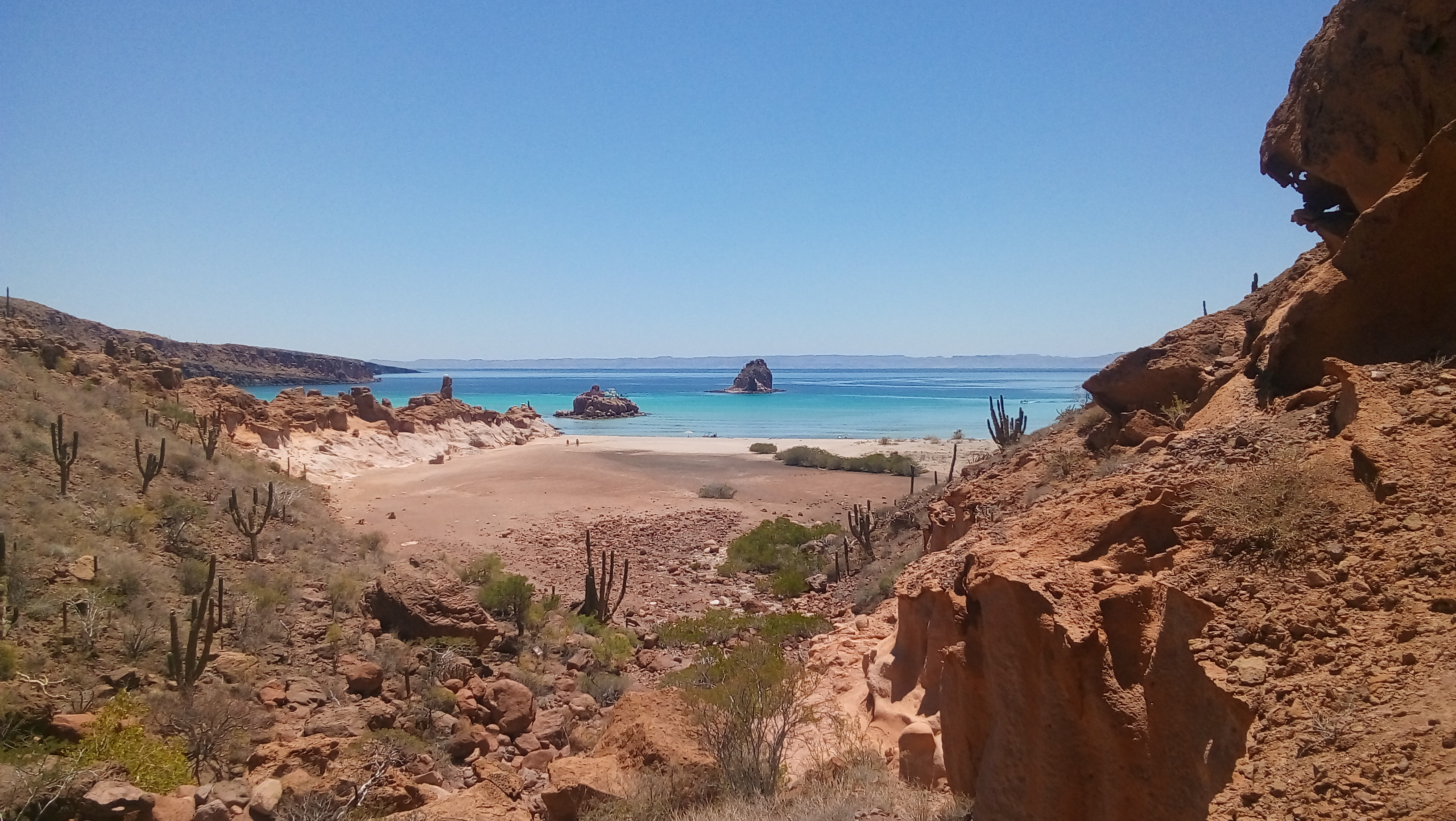 Los Candeleros beach