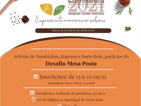 Temporada Gastronômica inicia ações com artesãos da Costa Esmeralda