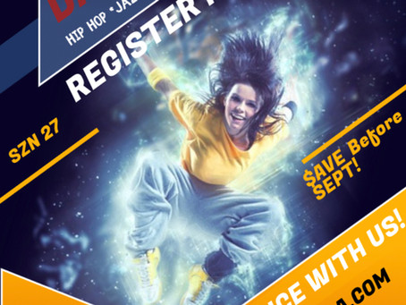 LABOR DAY REGISTRATION SPECIAL!!!