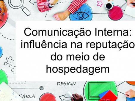 Curso sobre Comunicação Interna e sua influência na reputação dos meios de hospedagens