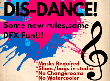 DFX is ready to safely SOCIAL DIS-DANCE into Season 27!!!