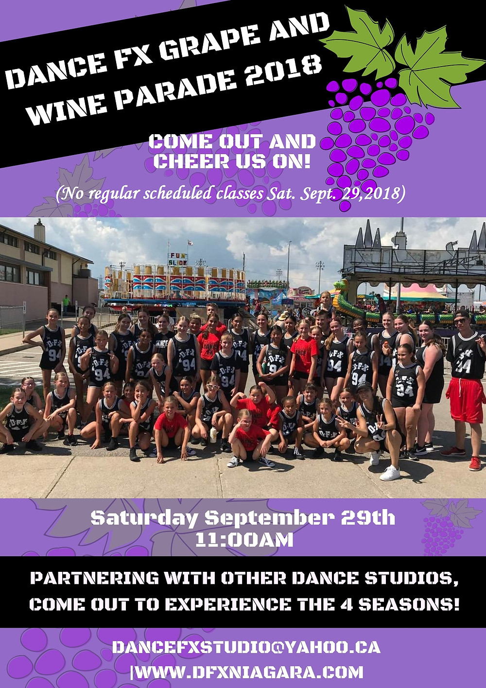 """Fall into """"WINTER"""" as DFX leads the parade snowqueens and more!!"""
