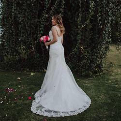Nicole y su vestido