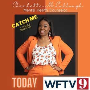 In celebration of Mental Health Awareness week catch me today on WFTV Channel 9 News 4pm and 6pm.