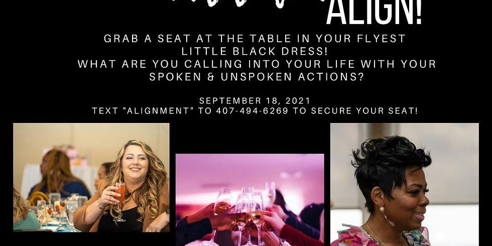 Attract...Attach...Align Table talk with Cherlette McCullough