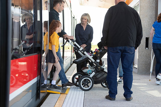 Canberra Metro - Chelmstone Tactile Paving