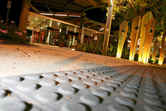 Arcadia Walk Noosa Tactiles and Commercial Paving