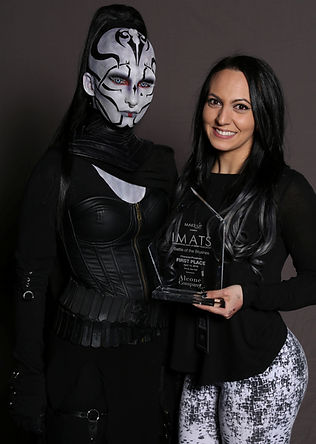 IMATS NY WINNER Battle of the Brushes