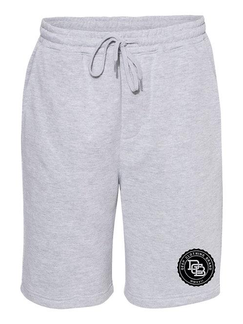 Grey MonoGram Shorts