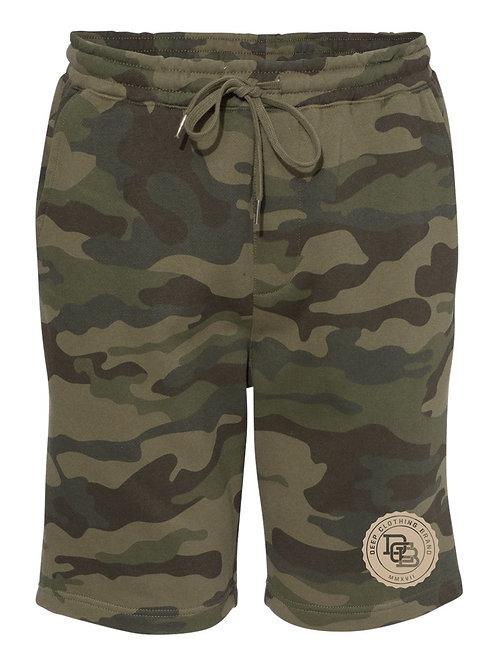 Camo MonoGram Shorts