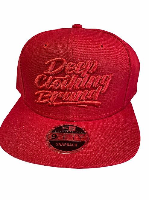 Red/Red Snap Back Hat - Original Logo