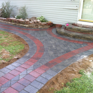 Hardscape and outdoor steps