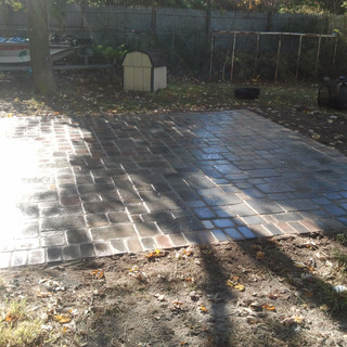 Building a new patio