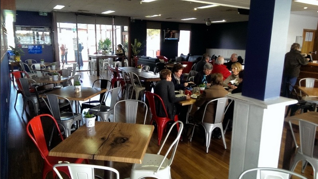 Relax in casual style at the BYC Cafe