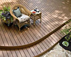 Match your deck to your home
