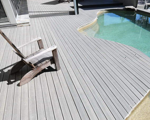 Composite Decking for poolside